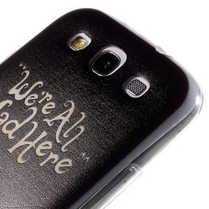 Ultratenký gelový obal na Samsung Galaxy S3 - smile - 5