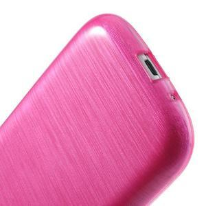 Brush gelový kryt na Samsung Galaxy S III / Galaxy S3 - rose - 5