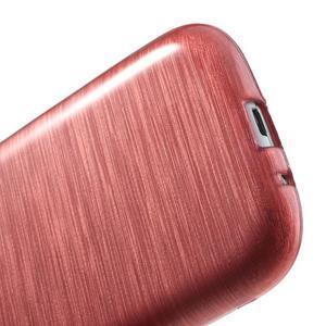 Brush gelový kryt na Samsung Galaxy S III / Galaxy S3 - růžový - 5