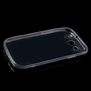 Ultratenký slim 0.6 mm obal na Samsung Galaxy S III / S3 - transparentní - 5