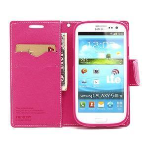 Mr. Fancy koženkové pouzdro na Samsung Galaxy S3 - růžové - 5