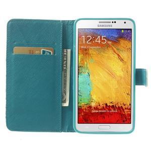 Peněženkové pouzdro na mobil Samsung Galaxy Note 3 - Eiffelova věž - 5