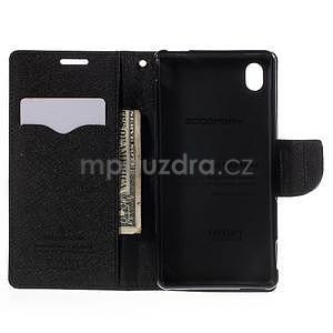 Ochranné pouzdro na Sony Xperia M4 Aqua - černé - 5