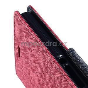 Peněženkové pouzdro na mobil Sony Xperia Z3 - rose - 5