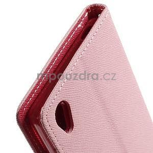 Peněženkové pouzdro na mobil Sony Xperia Z3 - růžové - 5