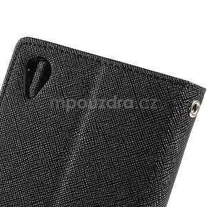 Peněženkové pouzdro na mobil Sony Xperia Z3 - černé - 5