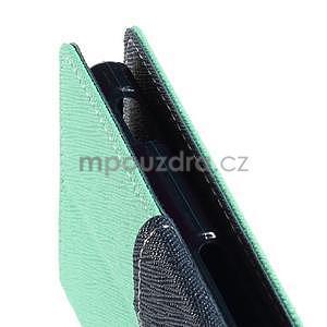 Peněženkové pouzdro na mobil Sony Xperia Z3 - azurové - 5