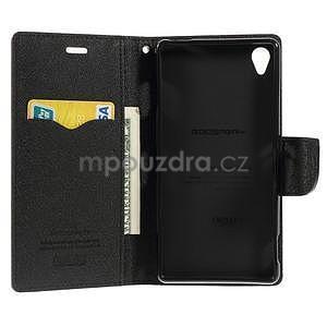 Peněženkové pouzdro na mobil Sony Xperia Z3 - hnědé - 5