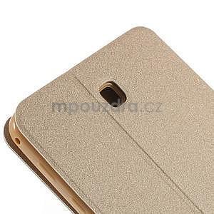PU kožené peněženkové pouzdro pro tablet Samsung Galaxy Tab 4 8.0 - champagne - 5