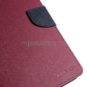 Rose peněženkové pouzdro Goospery na tablet Samsung Galaxy Tab 4 8.0 - 5