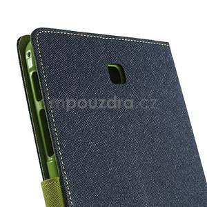 Modré peněženkové pouzdro Goospery na tablet Samsung Galaxy Tab 4 8.0 - 5