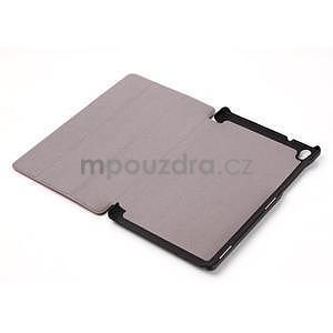 Světle modré pouzdro na tablet Lenovo S8-50 s funkcí stojánku - 5