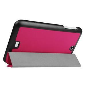 Trifold polohovatelné pouzdro na tablet Acer Iconia One 7 B1-770 - rose - 5