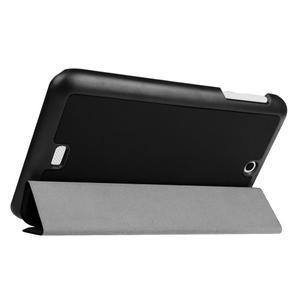 Trifold polohovatelné pouzdro na tablet Acer Iconia One 7 B1-770 - černé - 5
