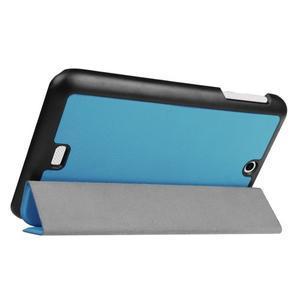 Trifold polohovatelné pouzdro na tablet Acer Iconia One 7 B1-770 - světlemodré - 5