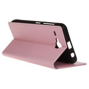 Gregory peněženkové pouzdro na Acer Liquid Z520 - růžové - 5