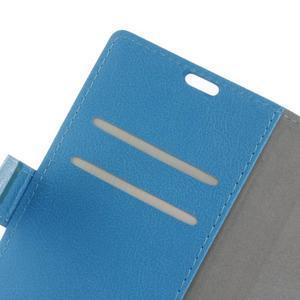 Gregory peněženkové pouzdro na Acer Liquid Z520 - modré - 5
