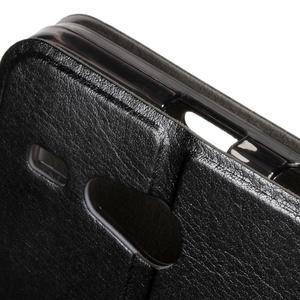 Horse peněženkové pouzdro na Acer Liquid Z520 - černé - 5