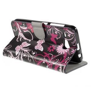 Nice koženkové pouzdro na mobil Acer Liquid Z520 - magičtí motýlci - 5