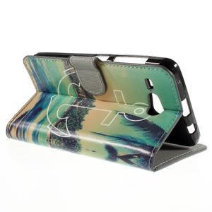 Nice koženkové pouzdro na mobil Acer Liquid Z520 - kotva - 5