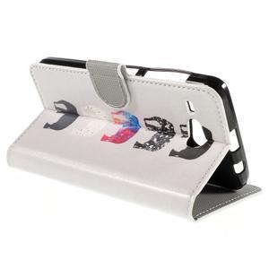 Nice koženkové pouzdro na mobil Acer Liquid Z520 - sloni - 5