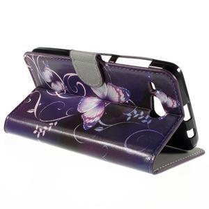 Nice koženkové pouzdro na mobil Acer Liquid Z520 - kouzelní motýlci - 5