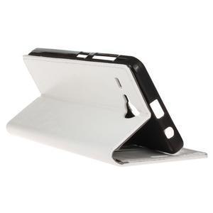 Stanley PU kožené pouzdro na Acer Liquid Z520 - bílé - 5