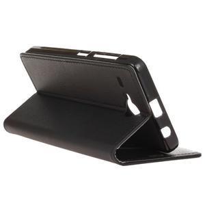 Gregory peněženkové pouzdro na Acer Liquid Z520 - černé - 5