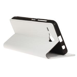 Gregory peněženkové pouzdro na Acer Liquid Z520 - bílé - 5