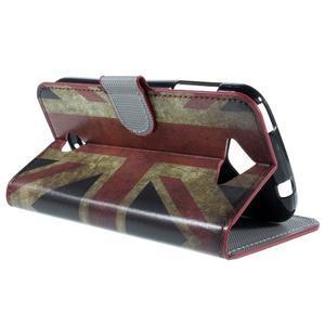Valet peněženkové pouzdro na Acer Liquid Z530 - UK vlajka - 5