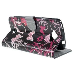 Valet peněženkové pouzdro na Acer Liquid Z530 - kouzelní motýlxi - 5