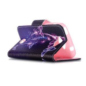 Luxy peněženkové pouzdro na Acer Liquid Z530 - kouzelní motýlci - 5
