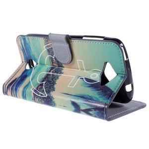 Valet peněženkové pouzdro na Acer Liquid Z530 - kotva - 5