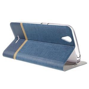Klopové pouzdro na mobil Acer Liquid Z630 - modré - 5