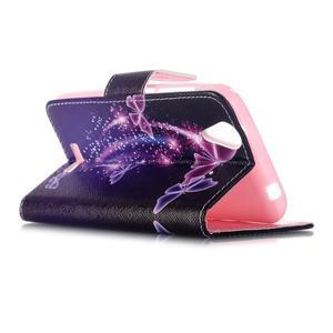 Peněženkové pouzdro na mobil Acer Liquid Z630 - kouzelní motýlci - 5