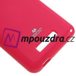 Jelly odolný gelový obal na Asus Zenfone 3 Max ZC520TL - rose - 5