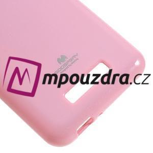 Jelly odolný gelový obal na Asus Zenfone 3 Max ZC520TL - růžový - 5