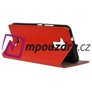 Glory peněženkové pouzdro na Asus Zenfone 3 Max - červené - 5