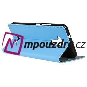 Glory peněženkové pouzdro na Asus Zenfone 3 Max - světlemodré - 5