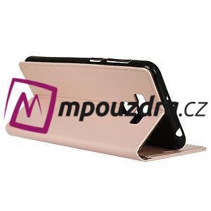 Peněženkové pouzdro na Asus Zenfone 3 Max ZC553KL - růžové - 5
