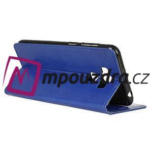 Peněženkové pouzdro na Asus Zenfone 3 Max ZC553KL - modré - 5