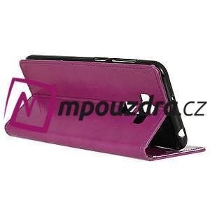 Peněženkové pouzdro na Asus Zenfone 3 Max ZC553KL - fialové - 5