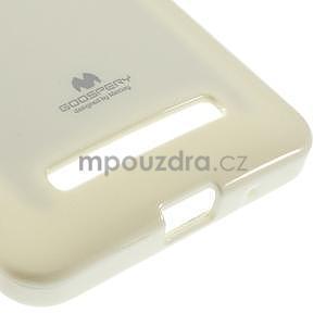 Gelový obal na Asus Zenfone 5 - bílý - 5