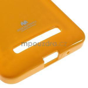 Gelový obal na Asus Zenfone 5 - Žlutý - 5