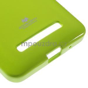 Gelový obal na Asus Zenfone 5 - zelený - 5
