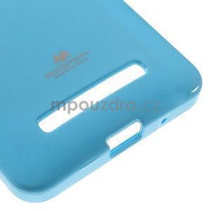 Gelový obal na Asus Zenfone 5 - světle modrý - 5