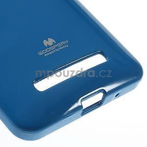 Gelový obal na Asus Zenfone 5 - modrý - 5