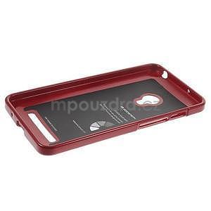 Tmavě červený gelový obal na Asus Zenfone 5 - 5