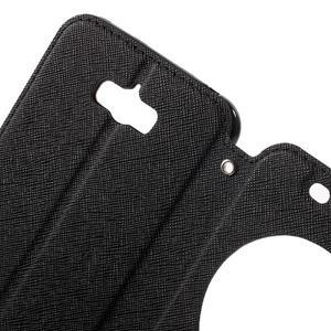 Diary peněženkové pouzdro s okýnkem na Asus Zenfone Max - černé - 5