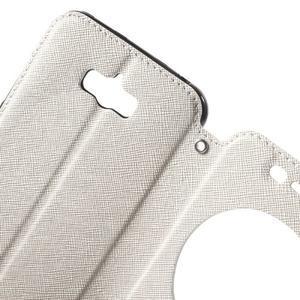 Diary peněženkové pouzdro s okýnkem na Asus Zenfone Max - bílé - 5